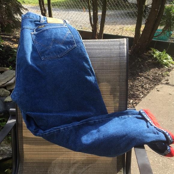Wrangler Other - Men's lined jeans by Wrangler nwot